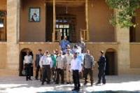 تجدید میثاق  جمعی از جانبازان هشت سال دفاع مقدس با آرمانهای امام راحل