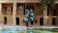 گزارش تصویری بازدید گردشگران بلژیکی از بیت و زادگاه امام در خمین