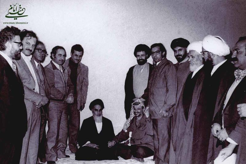 امام خمینی و یاسر عرفات