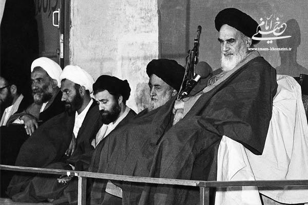 انتخاب آیت الله خامنه ای به عنوان امام جمعه تهران
