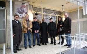 گزارش تصویری بازدید مهمانان موسسه بین الملل مطالعات اسلامی از جماران