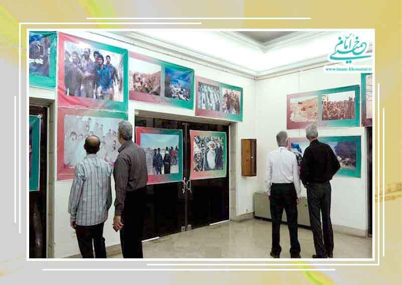 فرماندهان و رزمندگان عملیات ثامن الائمه در نگارستان امام خمینی