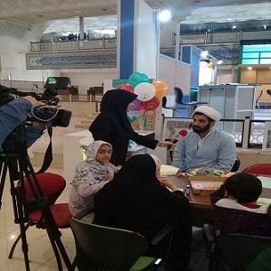 گزارشی تصویری از غرفه موسسه تنظیم و نشر آثار امام خمینی(س) در بیست و نهمین نمایشگاه قرآن کریم(1)