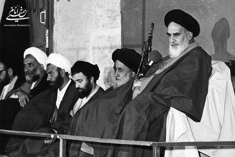 امام خمینی در جماران