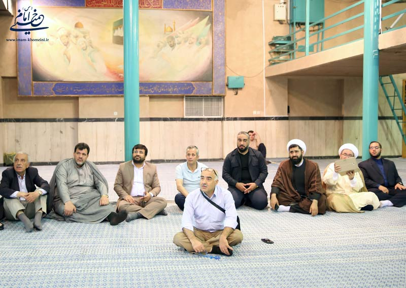 بازدید جمعی از اساتید دانشگاه های کشور سوریه از نگارستان امام خمینی(س)