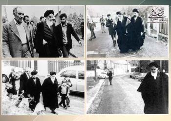 پیام تاریخی امام به ملت ایران در خصوص هجرت از عراق به فرانسه