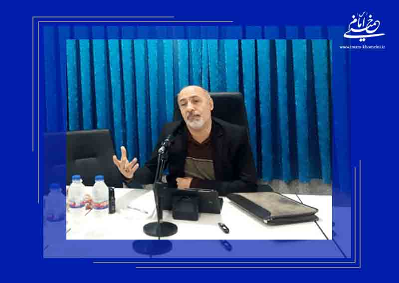 محمد منصورنژاد در نشست آراء امام خمینی در مورد صلح