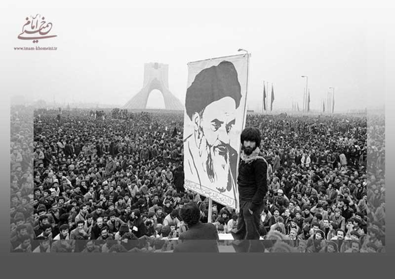 تجلیل امام از ملت در پی راهپیمایی عظیم تاسوعا و عاشورای 57