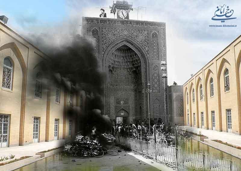 آتش زدن مسجد جامع کرمان گردش چرخ های انقلاب را سرعت بخشید
