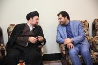 دیدار دبیرکل انجمن مدیریت راهبردی ایران با یادگار امام