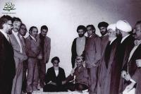 شادی بی نظیر یاسر عرفات از پیروزی انقلاب اسلامی