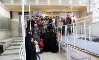 بازدید گردشگران نوروزی از بیت و نگارستان امام خمینی(ره) در جماران