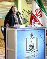 """شعر خوانی سیده فاطمه موسوی در """"محفل شعر حضور"""""""
