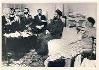 دیدار وزیر امور خارجه شوروی با امام در جماران