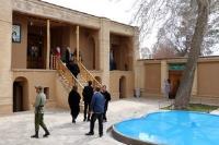 گزارش تصویری بازدید مسافران نوروزی از بیت تاریخی امام خمینی(ره)