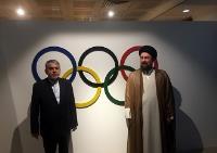 یادگار امام از موزه ملی المپیک بازدید کرد