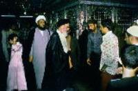 یادداشت شهروند نجفی در دفتر یادبود حسینیه جماران