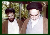 نامه امام به مرحوم سید احمد خمینی در  تأیید صداقت و امانتداری ایشان