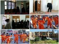 تجدید میثاق گروههای مردمی و مسوولان استانی با آرمانهای رهبر کبیر انقلاب اسلامی