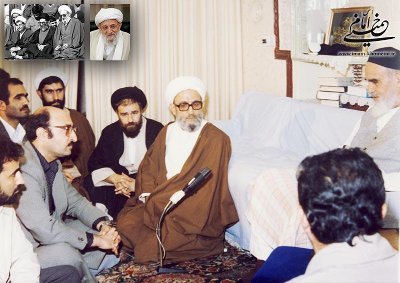 هیئت دولت آیت الله مهدوی کنی در محضر امام خمینی
