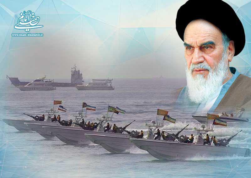 دفاع مقدس و اعلام پشتیبانی امام از بازرسی کشتی های بیگانه در خلیج فارس و تنگه هرمز