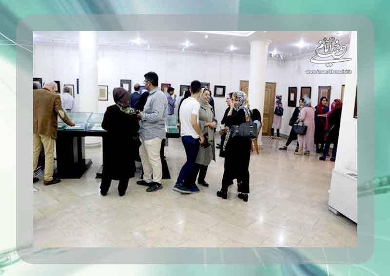 """گزارش تصویری چهاردهمین پاتوق شاعرانه و نمایشگاه """"مشق عشاق"""" در نگارستان امام خمینی (س)"""