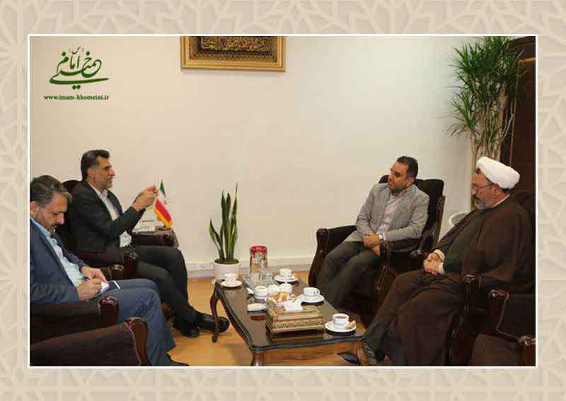 دیدار دکتر عباس کمساری و دکتر عبدالحسینی