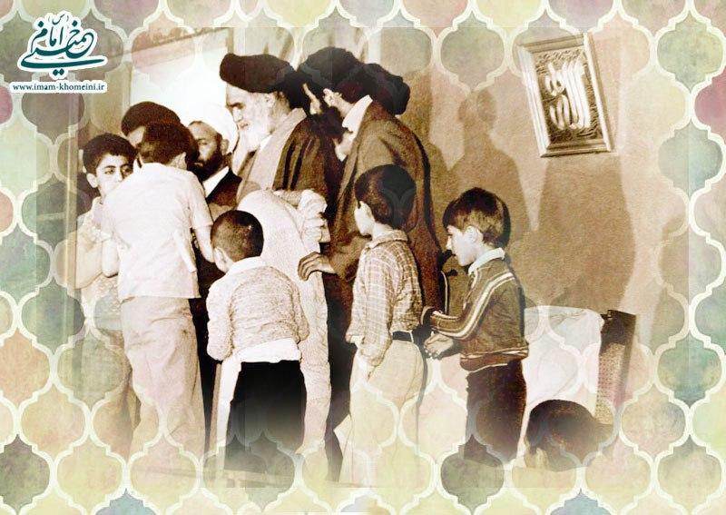 امام و کودکان