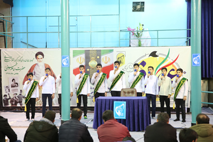 گزارش تصویری تجدید میثاق اتحادیه انجمن اسلامی دانش آموزی با آرمانهای بنیانگذار جمهوری اسلامی ایران در حسینیه جماران