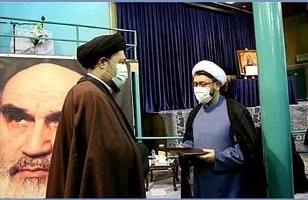 پیام تبریک مدیران و کارکنان نمایندگی موسسه در قم به حجت الاسلام والمسلمین دکتر علی کمساری