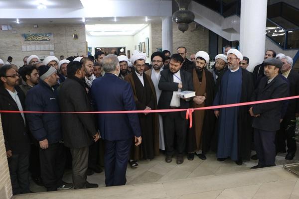 افتتاح نمایشگاه آثار تجسمی کنگره باز خوانی ابعاد شخصیتی حضرت علی