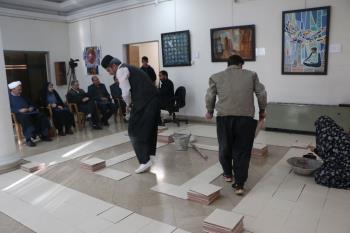 آثار راه یافته به سومین جشنواره تئاتر روح الله در بخش نمایش های صحنه ای بازبینی شد