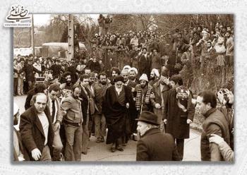 اشتیاق فراوان جوانان فرانسوی برای دیدن امام