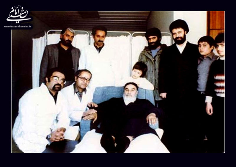 امام و کادر پزشکی