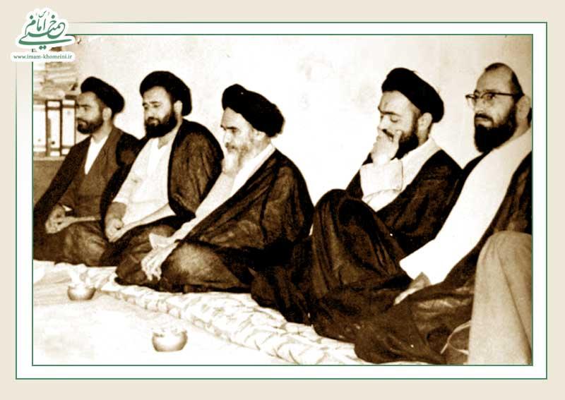 آیا در زمان حضور امام خمینی در عراق تعاملی میان ایشان و دیگر روحانیون بنام عراقی وجود داشت؟