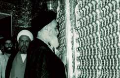 امام (ره) و زیارت مراقد مطهر ائمه مطهر (ع)