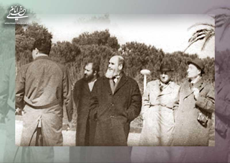 امام خمینی در ترکیه