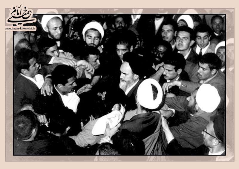 مقصد امام پس از آزادی از زندان