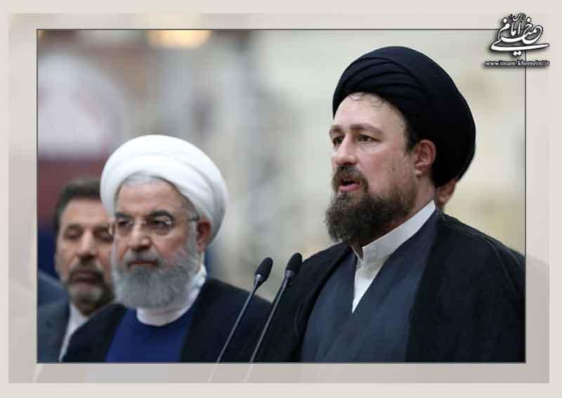 سید حسن خمینی و حسن روحانی