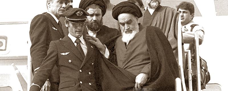ورود امام به ایران