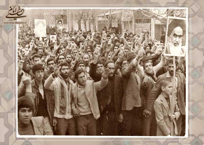 ایران در انتظار [امام] خمینی است.