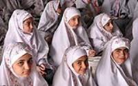 جشن عبادت جمعی از دانش آموزان منطقه ۱۹ شهر تهران در جوار حرم امام خمینی(س)