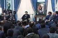 دیدار هیات مرکزی گزینش شهرداری تهران با یادگار امام