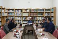 نشست شورای سیاستگذاری سومین جشنواره تئاتر ونمایش نامه نویسی روح الله برگزار شد
