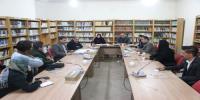 نشست هم اندیشی ویژه راه یافتگان به مرحله نهائی در بخش نمایش های صحنه ای جشنواره تئاتر روح الله برگزار شد
