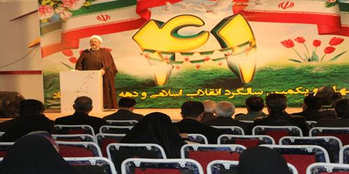 برگزاری  همایش نیم روزه تبیین اندیشه امام خمینی (ره) درشهر تیران و کرون