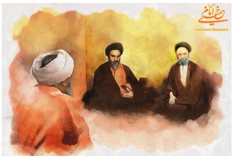 امام خمینی و سید علی آقا قاضی