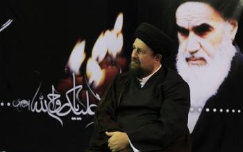 دیدار اعضای شورای مرکزی کانون زندانیان سیاسی مسلمان قبل از انقلاب با یادگار امام