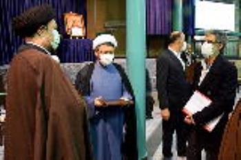 گزارش تصویری معرفی سرپرست جدید موسسه تنظیم و نشر آثار امام خمینی