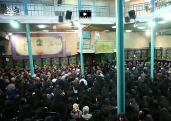 عزاداری مرحوم کوثری در حسینیه جماران قسمت دوم